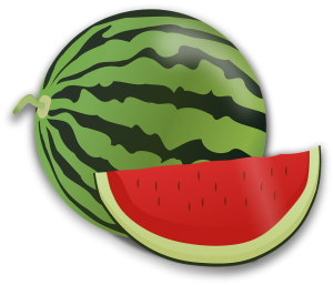 vattenmelon frukost
