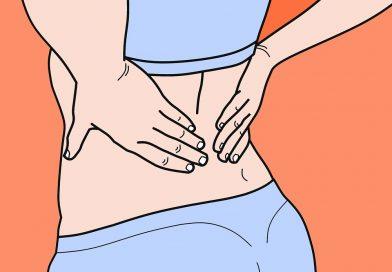 Då kan det vara farligt att träna med ryggont